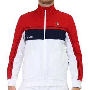Lacoste SPORT Trainingsjacke Herren Rot/Dunkelblau/Weiß (SH9543 4HU) Größe: M