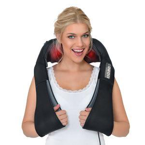 DAS ORIGINAL Donnerberg® Nackenmassagegerät 4D Massagegerät Nacken Schulter Shiatsu Infrarot Massage mit Vibration & Wärme  Nackenmassage Gerät