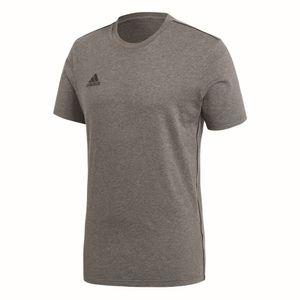 Adidas CORE 18 Tee T-Shirt dunkelgrau-weiß