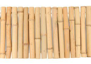 Beeteinfassung aus Bambus gerollt, Höhe:30 cm, Breite:120 cm