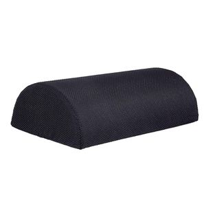 Ergonomische Fußstütze Schreibtisch Fußablage Perfekt für Müde Füße, Farbe Schwarz