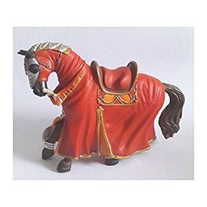 Bullyland 80768 - Turnierpferd rot aus Kunststoff 4007176807682