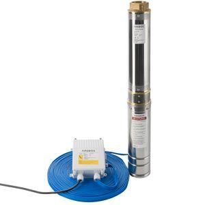 Arebos Tiefbrunnenpumpe 1100W, 9000 L/h - direkt vom Hersteller