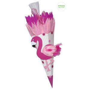 Schultüte Bastelset Flamingo