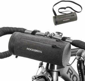 ROCKBROS 100% Wasserdicht Fahrrad Lenkertasche Fahrradtasche Rahmentasche ca.2L