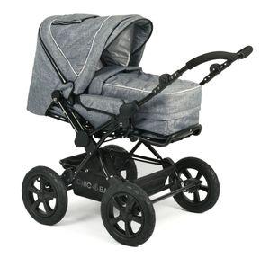 Chic 4 Baby Kombikinderwagen VIVA Jeans blue, grau; 100 34
