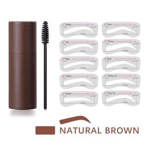 Eyebrow Brow Stamp Kit Brow Powder with Brow card Waterproof Makeup Reusable