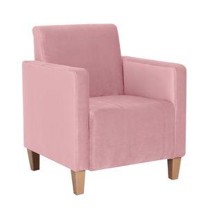 Max Winzer Milla Sessel - Farbe: rosé - Maße: 71 cm x 70 cm x 81 cm; 2903-1100-2044206-F01