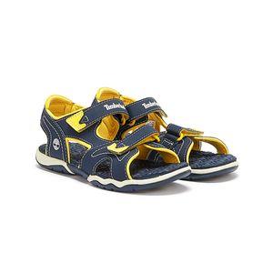 Timberland Marine Blau mit Gelbe Sandalen für Jugendliche