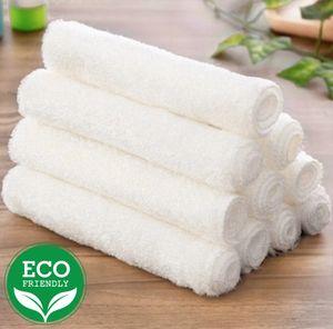 Nachhaltiges Bambustuch Spültuch Universaltuch 5 er Set Putzlappen 100% Bambus