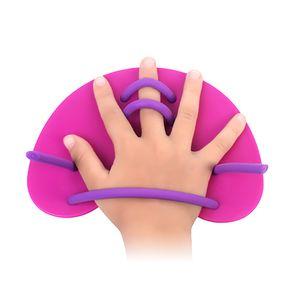 Schwimmen Hand Paddel Fins Einstellbare Schwimmtraining Handpaddel fuer Erwachsene / Kinder Swimming Hand Paddles Fins Adjustable Swim Training Hand Paddles for Adults/Children