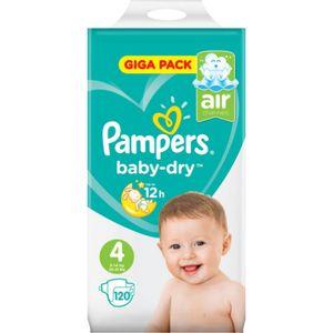 Pampers Baby Dry Gigapack Gr.4 120 Stück
