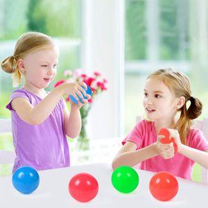 12 Stück TPR (4.5cm)Magie Sticky Balls Sticky Balls für Decken Stressabbau Globbles Stressspielzeug, Sticky Wall Ball Spielzeug Kinder Geschenk