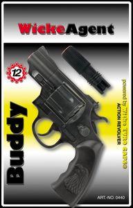 Sohni-Wicke 12er Agentenrevolver Buddy 23,5 cm, Tester