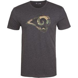 New Era Camo Shirt - NFL Los Angeles Rams charcoal