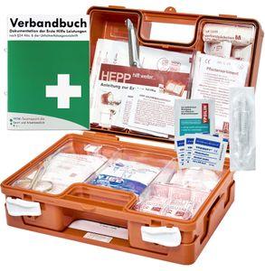 Erste Hilfe Kasten DIN/EN 13157 für BÜRO & BETRIEBE + DIN/EN 13164 für KFZ - INKL. Verbandbuch & Hygieneset