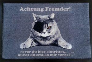 Fußmatte Piratenkatze Fußabtreter Cats Katze