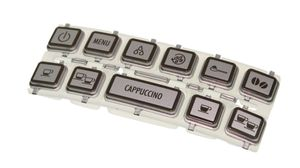 DeLonghi 5513218331 Tastenfeld für ECAM22.360 ECAM22.366 Magnifica Cappuccino S