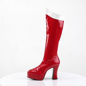 Funtasma EXOTICA-305 Stiefel rot, Größe:EU-39 / US-9 / UK-6