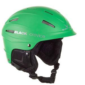 Black Crevice Erwachsene Skihelm ISCHGL Ski Helm, matt grün, Größen:S