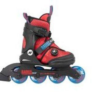 K2 Inline Skates RAIDER PRO blue - yellow Größe  35-40