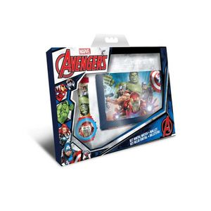 Geschenkset Avengers Uhr  Geldbörse - Marvel Avengers