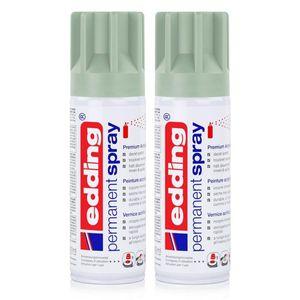 edding Permanent Spray mellow mint 200 ml Premium Acryllack (2er Pack)