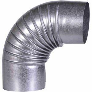 Ofenrohrbogen, 90° FAL Ø 110 mm ohne Tür