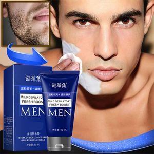 Rasiermesserlose Rasiercreme für Männer Haarentfernungscreme Bärte Enthaarungscreme LXQ200715091