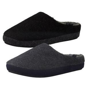 s.Oliver Herren Hausschuhe Pantoffeln 5-17300-25, Größe:43 EU, Farbe:Grau