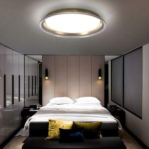 """Avior Home LED  50cm 27W Deckenleuchte """"Linse"""" Tageslicht Gold"""