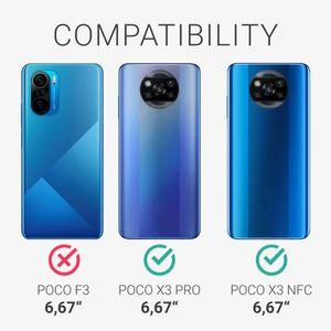 kwmobile Hülle kompatibel mit Xiaomi Poco X3 NFC / Poco X3 Pro - Hülle Handyhülle - Handy Case in Schwarz matt