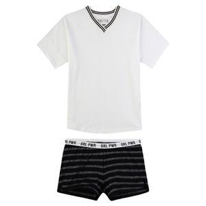 Sanetta Mädchen Zweiteiliger kurzer Schlafanzug Athleisure II