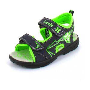 Lurchi Kosty \ Blinker\  Jungen Sandale in Blau, Größe 31