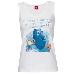 Ladys Tank Top Disney's Findet Dorie - You can'n get lost ... follow your Heart, Größe:XS