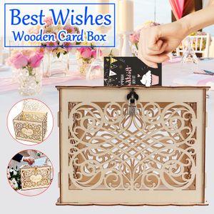 Kartenbox Hochzeit Glückwunschkartenbox Geschenkkartenbox Briefbox Geldbox Taufe