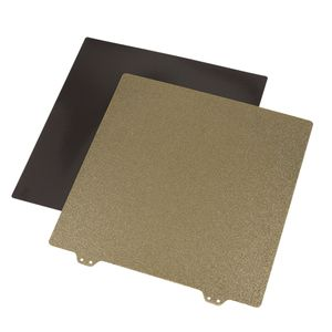 300x300mm Federstahlblech Heizplatte Beheizte Bett-Plattform Aufbauplatte für Creality CR-10 3D Drucker
