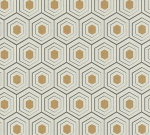 A.S. Création Vliestapete Four Seasons Tapete metallic beige schwarz 10,05 m x 0,53 m 358991 35899-1