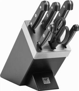 Zwilling Gourmet Messerblock Messerset Selbstschärfend 7tlg, schwarz
