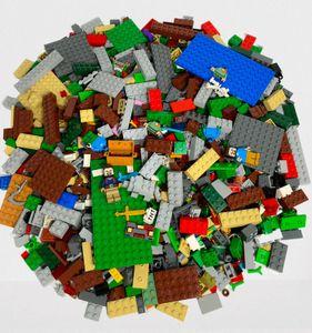 LEGO® Original Minecraft Mix  - Gemischte Steine + Minifiguren - Fabrikneu Menge 100 Stck.