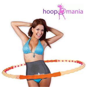 Hoopomania Magnetic Hoop, Hula Hoop mit 48 Magneten 1.2kg