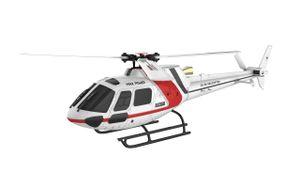 AS350 Brushless Helikopter 3D 3-Blatt 6G Flybarless, RTF