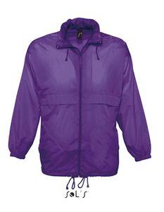 Windbreaker Surf - Farbe: Dark Purple - Größe: XL