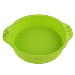 CANDeal Silikonbackform Ø 24 Rund Durchmesser Kuchen Backform Kuchenform Brotbackform Obstbodenform