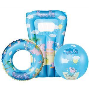 Happy People wasserspielset Peppa Pig 3-teilig blau