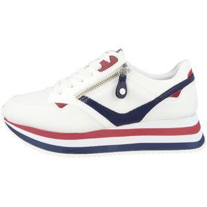 Tamaris Damen Sneaker Schnürschuhe 1-23742-26, Größe:40 EU, Farbe:Weiß