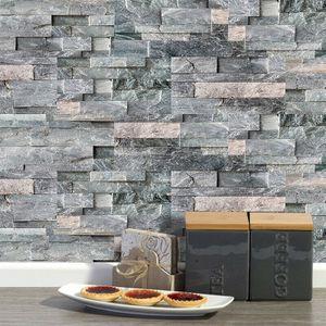 36 tlg Fliesenaufkleber Mosaik Aufkleber Folie Tapete für Bad Küche Selbstklebende Deko
