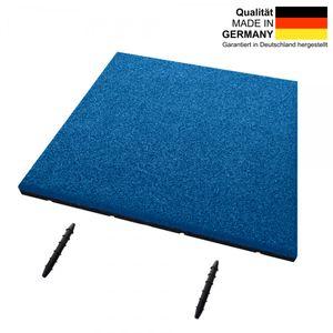 Fallschutzmatte SRP | ET 30 mm | 50x50 cm | blau