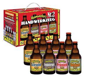 Heimwerker Handwerker Bier Teil 2 im 8er Geschenkkarton (8 x 0.33 l) (6,81 EUR / l)