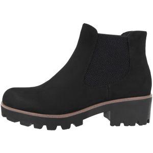 rieker Damen Stiefelette Schwarz Schuhe, Größe:38